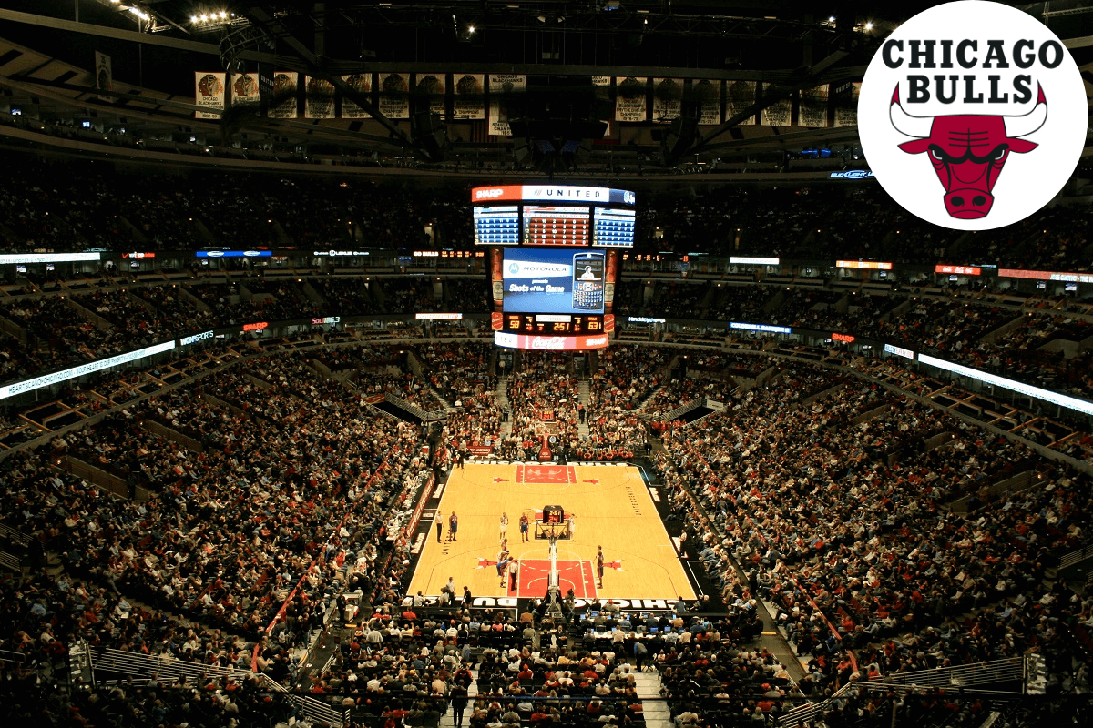 L'équipe de basket des Chicago Bulls évolue au United Center